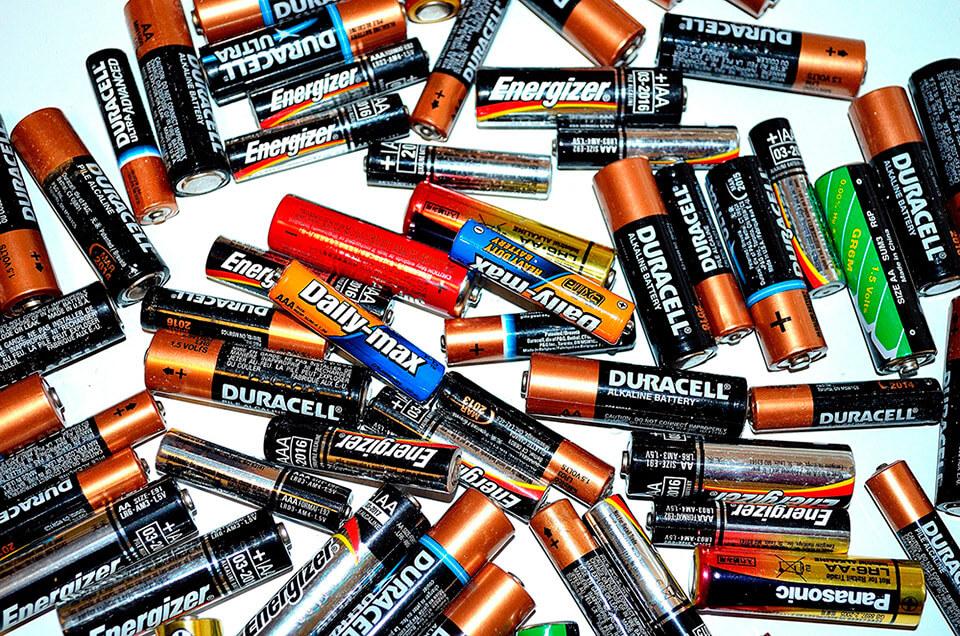 Residuos de pilas y acumuladores