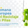 Eucobat celebra la Semana Europea del Reciclaje de Pilas