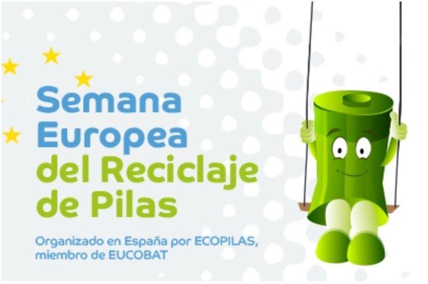 semana europea reciclaje pilas