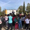 Los alumnos ganadores de la iniciativa 'Bosque Ecopilas' reforestan una zona de alto valor biológico en Lepe